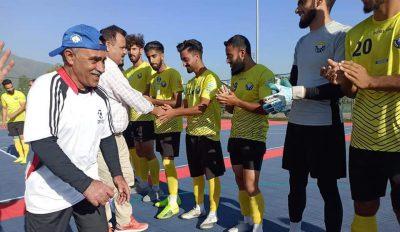 Futsal: Real Kashmir FC thrash Shahr-e-Khaas FC by 16-1 goals