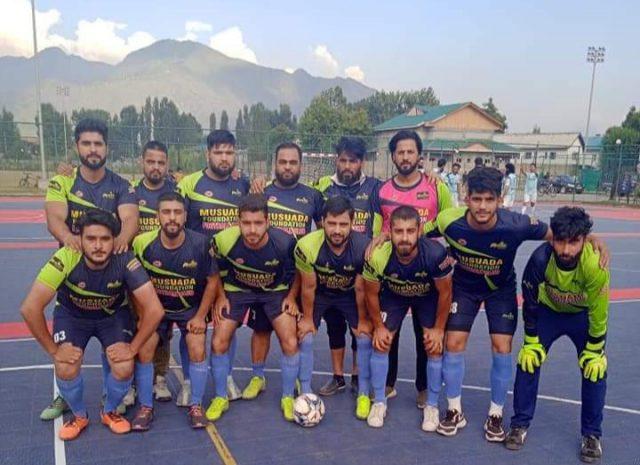 Novelty FC emerge winner in JKFA Futsal tourney. Pic/KSW