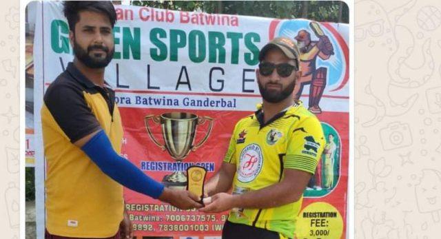 GBL: Owais Shah stars in Ganishah-XI win. Pic/KSW