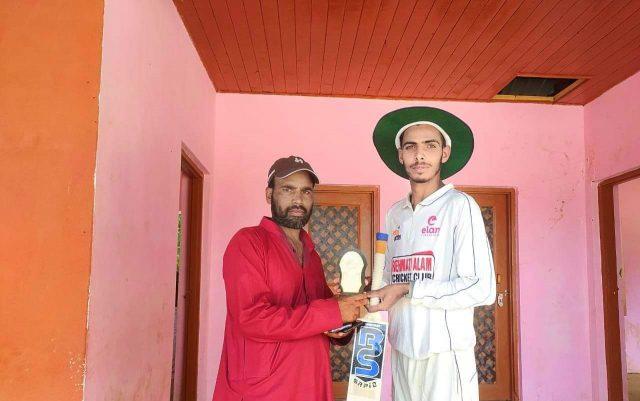 PPL: Tawseef stars in Kulpora Stars win. Pic/KSW