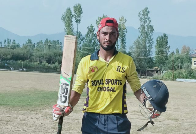 KPL: Saqib Riyaz smashes ton in Royal Sports win. Pic/KSW