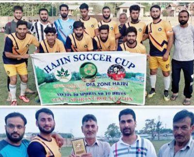 Hajin Soccer Cup: Wahab FC Hajin beat FFC Hygam, sets final clash with Arco FC