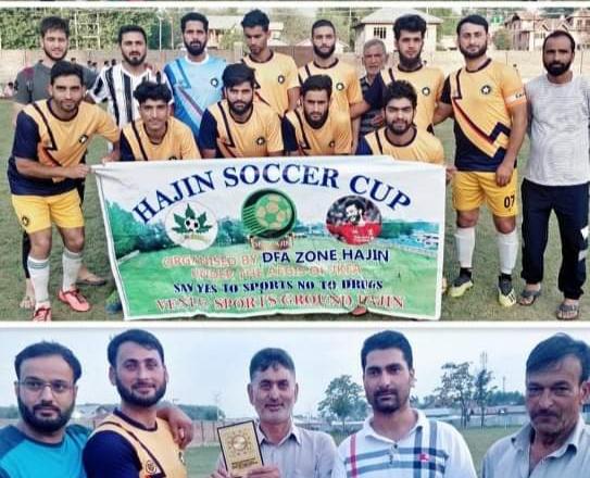 Hajin Soccer Cup: Wahab FC Hajin beat FFC Hygam, sets final clash with Arco FC. Pic/KSW