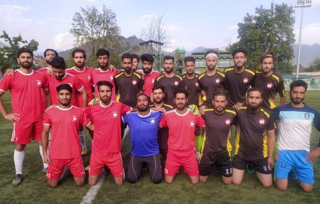 Super Div. League: Solina Sports held to 1-1 draw by Rangreth FC. Pic/KSW