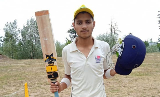Green Valley Tourney: Toufeeq guides Wailoo-XI to in against Khargam-XI. Pic/KSW
