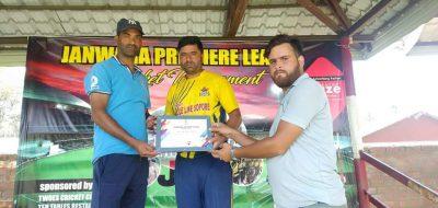 Janwara League: Shinning Stars Sopore outplay Bhat XI Batingoo