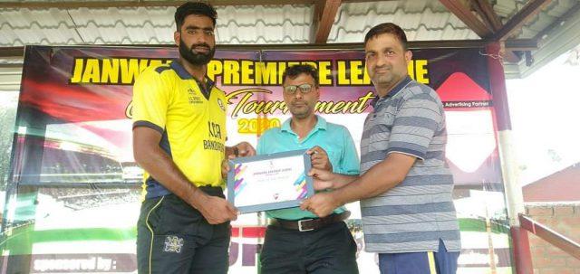 Janwara League: KCA Bandipora knock out Real Stars Sopore. Pic/KSW