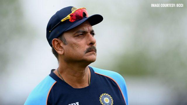 Team India coach Ravi Shastri's RT-PCR Test also returns Covid-19 Positive. Pic/BCCI