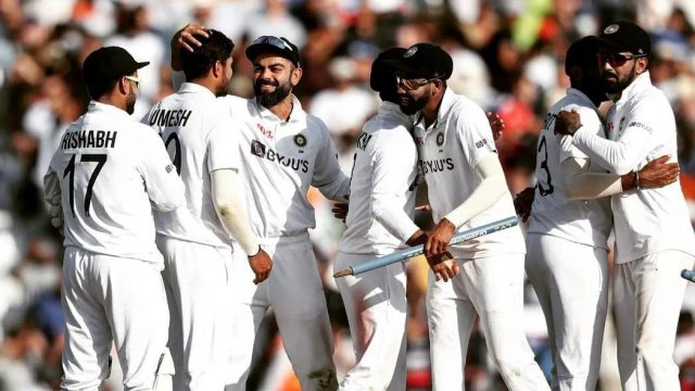 5th Test: ECB wants India to forfeit match after India Physio tested Positive for COVID. Pic/BCCI Twitter
