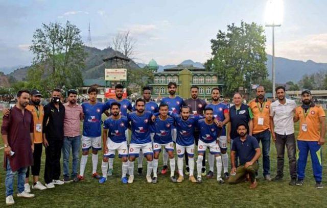 Hyderya Sports FC ready for 2nd Division I-League. Pic/Hyderya Sports FC