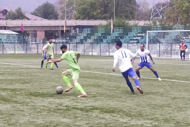Super Division League: Court Road FC beat Solina Sports. Pic/KSW