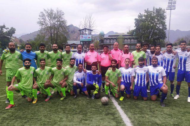 Super Division League: IFC Nowgam prevail over Saffalo FC. Pic/KSW