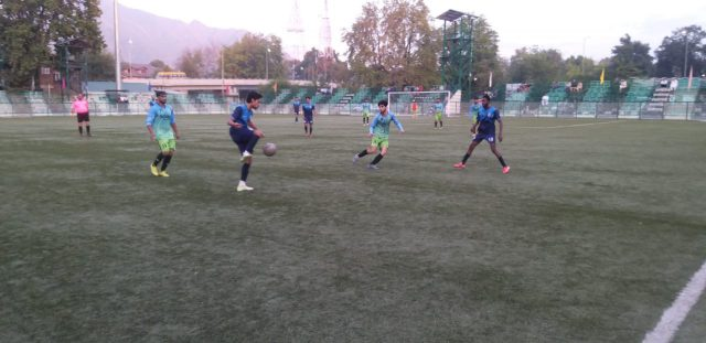 Fort View FC beat Rangreth FC 3-1 in Super Division League. Pic/KSW