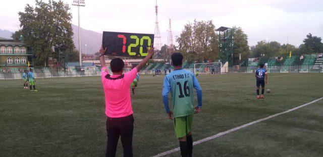 Super Division League: Kashmir United FC outplay Etihad FC 3-0