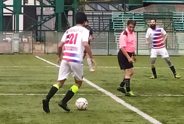 Qamarwari FC beat Saffalo FC 2-1 in Super Division League. Pic/KSW