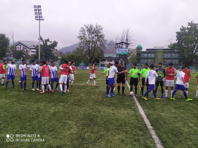 Super Division League: Syed Tajuddin FC beat Towheed FC by 3-0. Pic/KSW