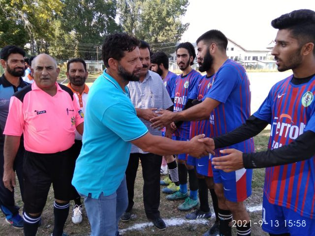 A-Division Football League inaugurated. Pic/KSW