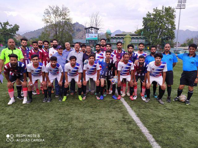 IFC Kashmir beat Old City FC 2-1 in Super Division League. Pic/KSW