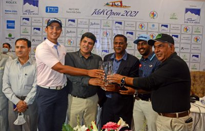 PGTI: Rs 40 lakhs on offer as J&K Open 2021 Presented by J&K Tourism to begin tomorrow