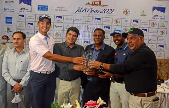 PGTI: Rs 40 lakhs on offer as J&K Open 2021 Presented by J&K Tourism to begin tomorrow. Pic/KSW