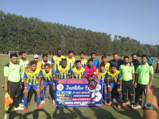 6th GMW Cup: Kashmir Panthers FC thrash Downtown Heroes FC 4-0 in semi's. Pic/KSW