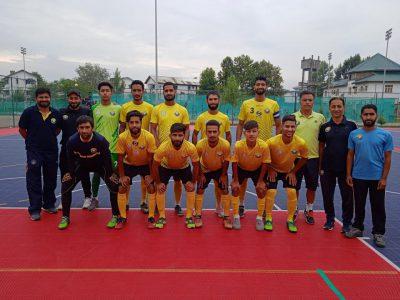 Real Kashmir FC (R) beat Downtown Heroes 3-1 to lift Futsal Championship title