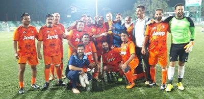 Positive Kashmir knockout football tourney kicks off