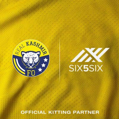 Real Kashmir FC announces SIX5SIX as its kit and merchandise partner