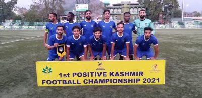 Positive Kashmir Tourney: Kashmir Avengers FC beat Arco FC