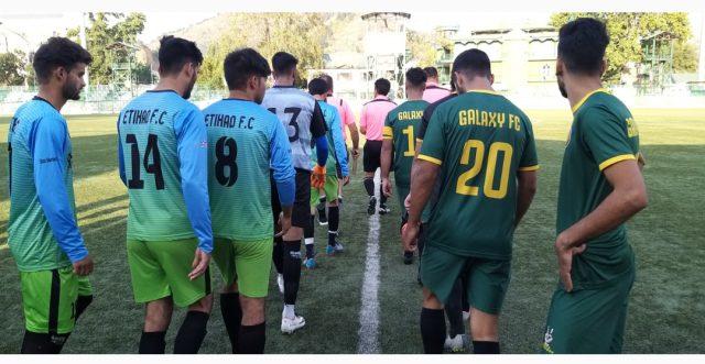 Super Division League: RKFC U-18 beat Kashmir United FC, Galaxy FC defeat Etihad FC. Pic/KSW