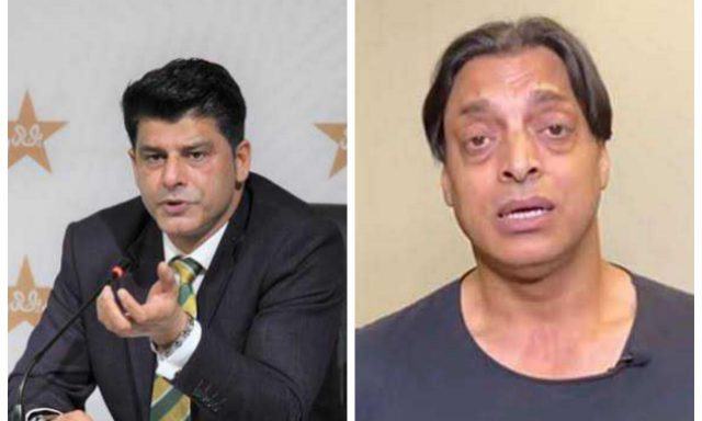 Mohammad Wasim is not a chief selector, he is just a puppet: Shoaib Akhtar. Pic/Twitter