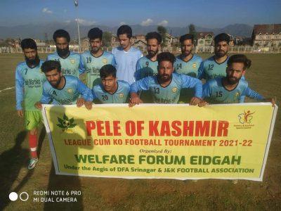Pele of Kashmir League: Shahr-e-Khaas FAc beat Etihad FC