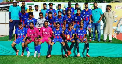 Green Valley Cup: Kashmir Panthers FC crush J&K Bank FC 3-0 in semifinal