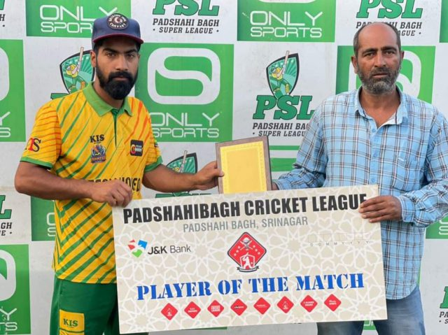 Team Hooked register 2nd win in Padshai Bagh Cricket League. Pic/KSW