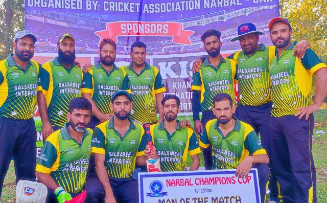 Narbal Cup: RPCC Wathora beat TCC Srinagar by 35 runs. Pic/KSW