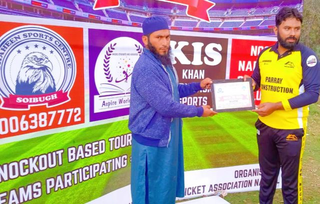 Narbal Cup: Taseer stars in Gulzar CC win over Team Hooked. Pic/KSW