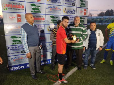 Khyber Milk Football Tourney: Both matches drawn on Thursday