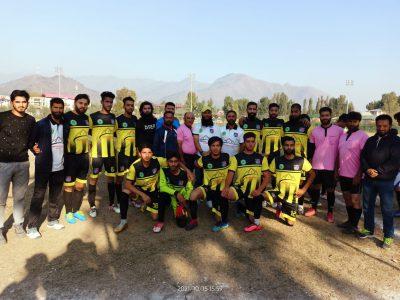 Khyber Milk Football Tourney: J&K Police, AG XI win matches
