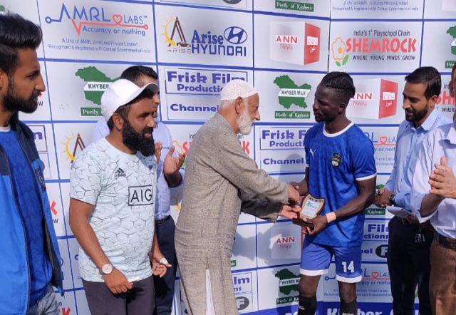 Premier Division League: Kashmir Avengers FC crush Iqbal Sports 6-0. Pic/KSW