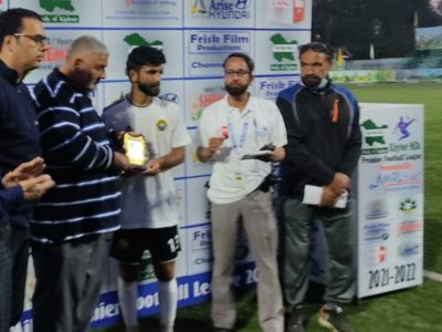 Premier League: Real Kashmir FC beat Kashmir Maharaja FC