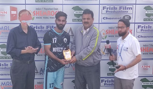 Premier League: Aaqib stars as Novelty FC crush F&S-XI 5-0. Pic/KSW