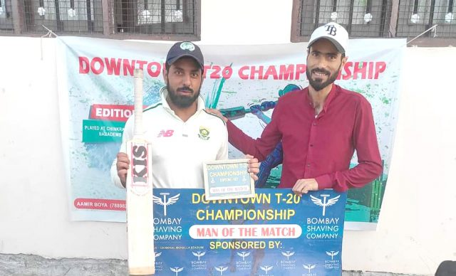 Downtown T20 Championship: Tanveer guides Team Hooked to win. Pic/KSW