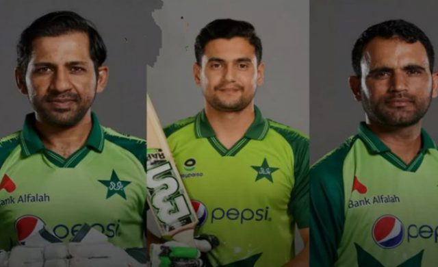 Pakistan make 3 changes to their 15-member T20 World Cup squad. Pic/Twitter