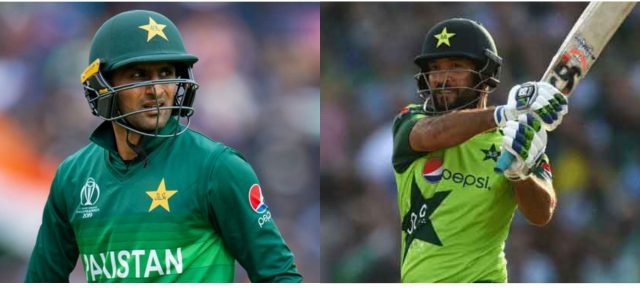 Shoaib Malik replaces injured Sohaib Maqsood in Pakistan T20 World Cup squad. Pic/KSW