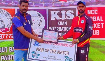 Champions Cup Narbal: Kashmir Strikers thrashes Hamdan XI on way to semi-final