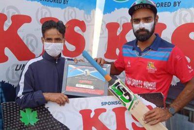 MPL: Adil Reshi ton hands Badshah Sports berth in final