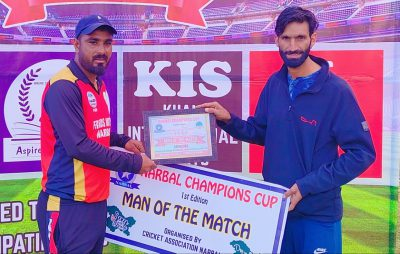 Narbal Champions Cup: Adil stars in Motors Narbal win