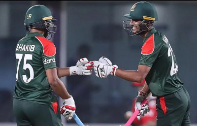 Bangladesh bounce back to get the better of Oman in T20 World Cup