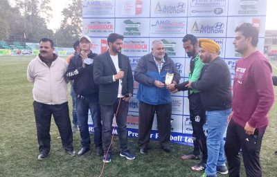 J&K Police beat AG's Office XI in Premier Division League