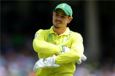 T20 World Cup: CSA release statement after Quinton De Kock 's match withdrawal
